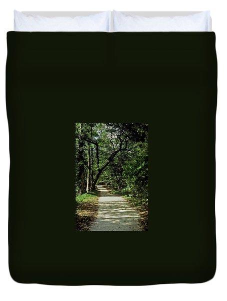 Hidden Path Duvet Cover