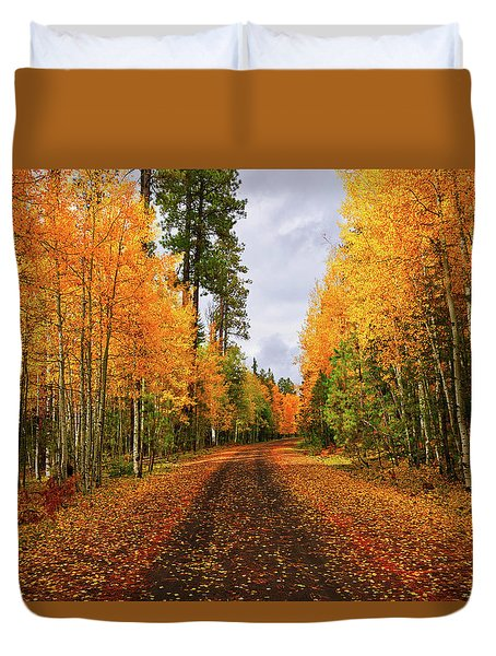 Hidden Paths Duvet Cover