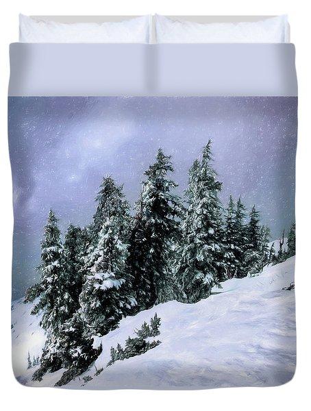 Hidden Peak Duvet Cover
