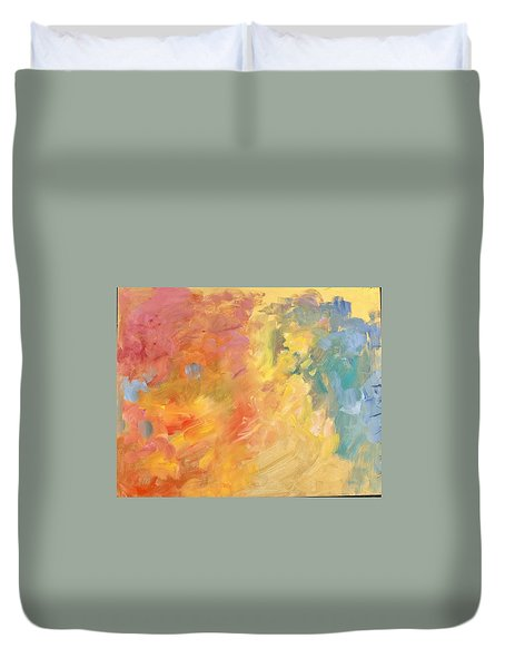 Hidden Smile Duvet Cover