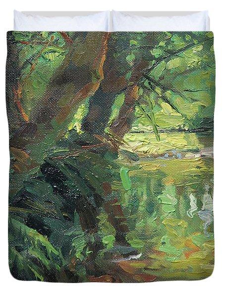 Hidden Stream Duvet Cover