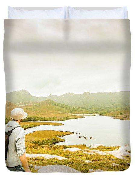 Hidden Tasmania Trails Duvet Cover
