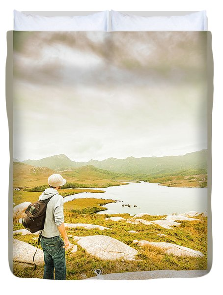Hidden Tasmania Trails Duvet Cover