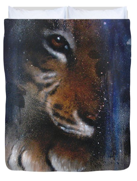 Hidden Tiger Duvet Cover