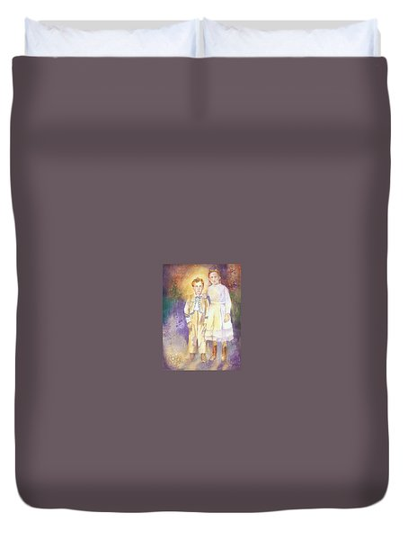 Hidden Treasures Duvet Cover