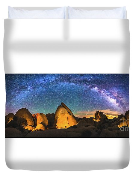 Hidden Valley Milky Way Duvet Cover