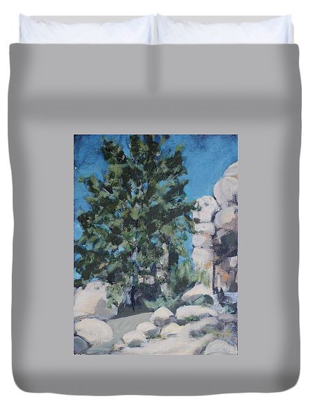 Hidden Valley Duvet Cover