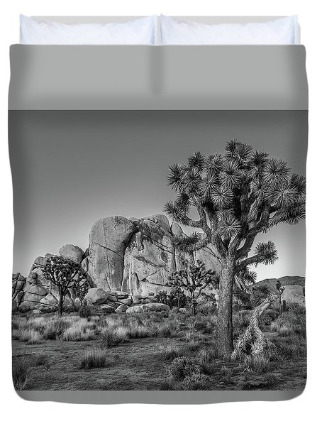 Hidden Valley Rock Duvet Cover