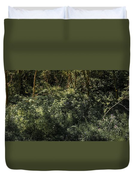 Hidden Wildflowers Duvet Cover