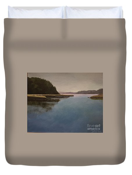 High Tide Little River Duvet Cover