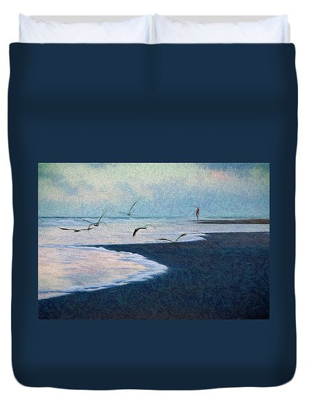 Hide Tide Duvet Cover