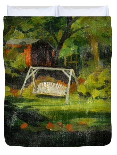 Hiedi's Swing Duvet Cover