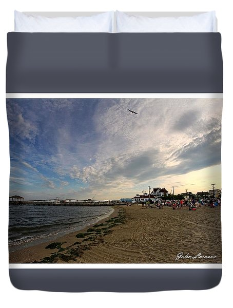 Higbee Beach Duvet Cover