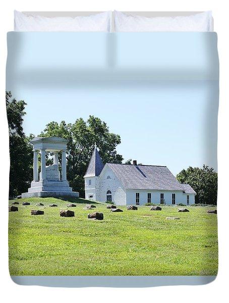 Higginsville  Missouri Duvet Cover