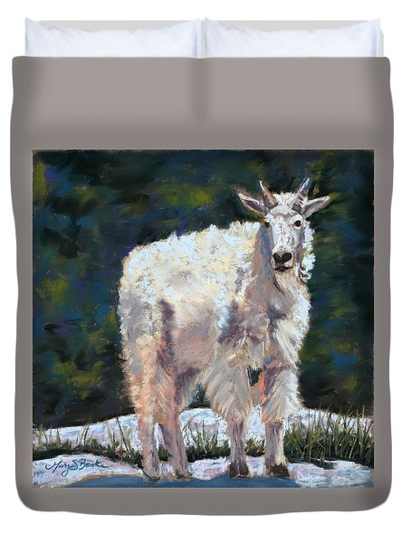 High Country Friend Duvet Cover by Mary Benke