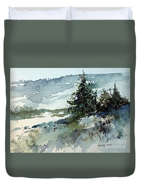 High Country Duvet Cover by Monte Toon