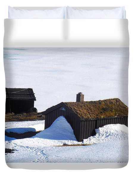High Country, Spring Duvet Cover by Susan Lafleur