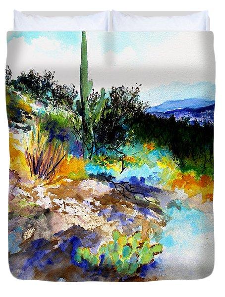 High Desert Scene Duvet Cover
