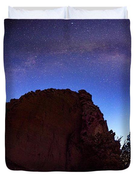 High Desert Dawn Duvet Cover by Leland D Howard
