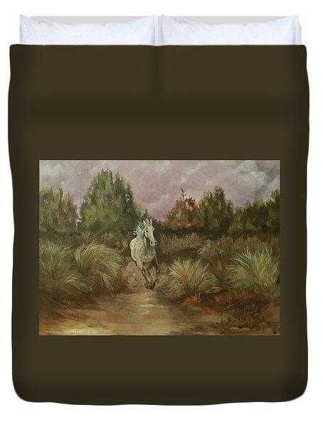 High Desert Runner Duvet Cover