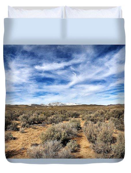 High Desert Duvet Cover