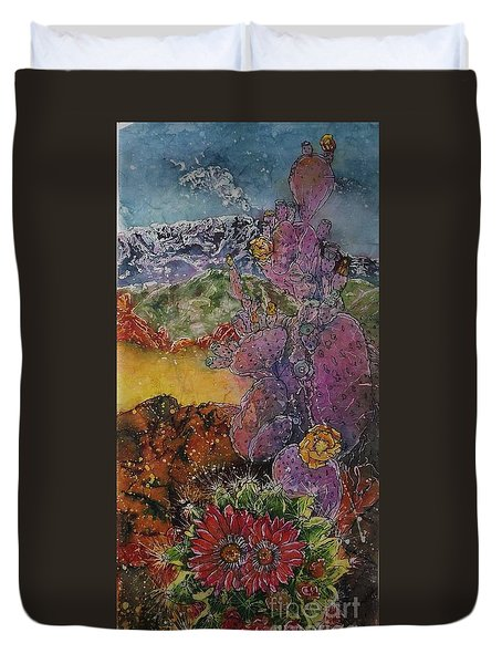 High Desert Spring Duvet Cover