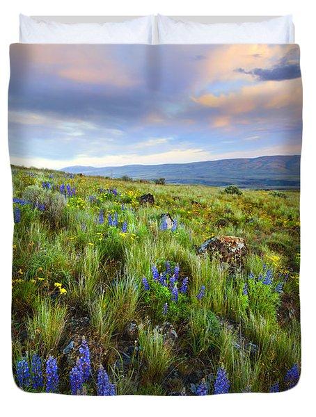 High Desert Spring Duvet Cover