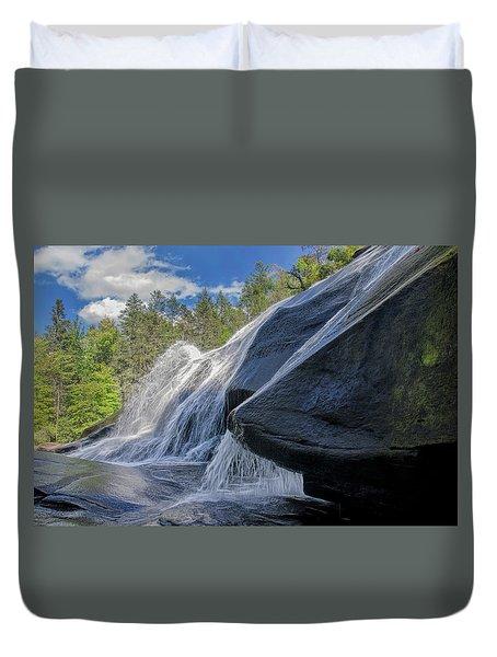 High Falls One Duvet Cover by Steven Richardson