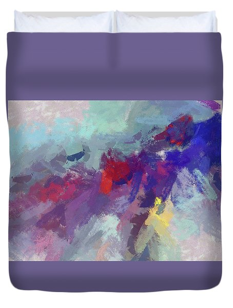 High Flying Kite Duvet Cover