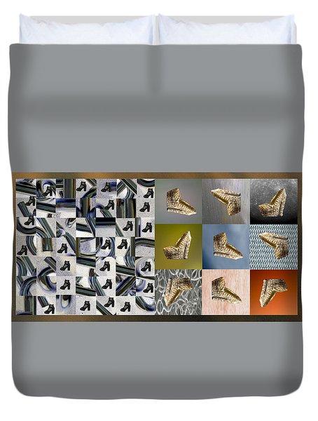 High Heel Study Duvet Cover