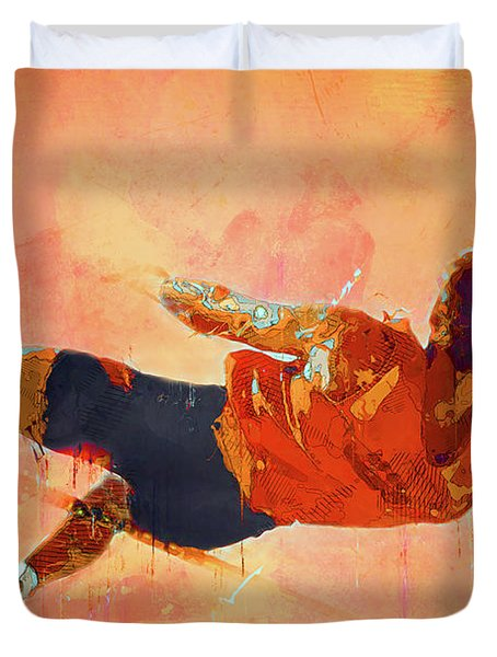 High Jumper Duvet Cover