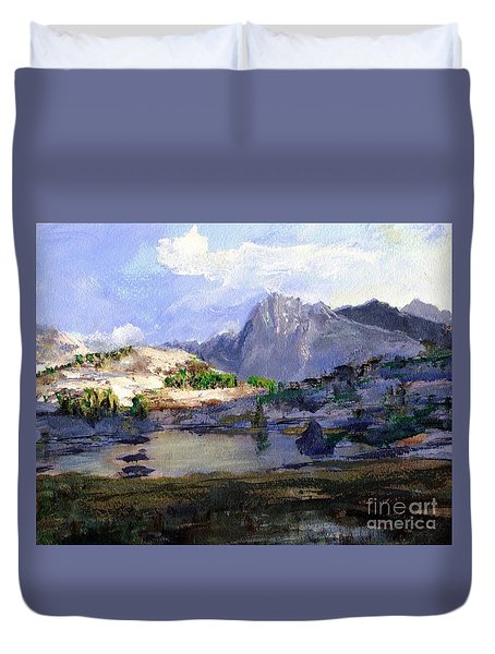 High Lake Duvet Cover