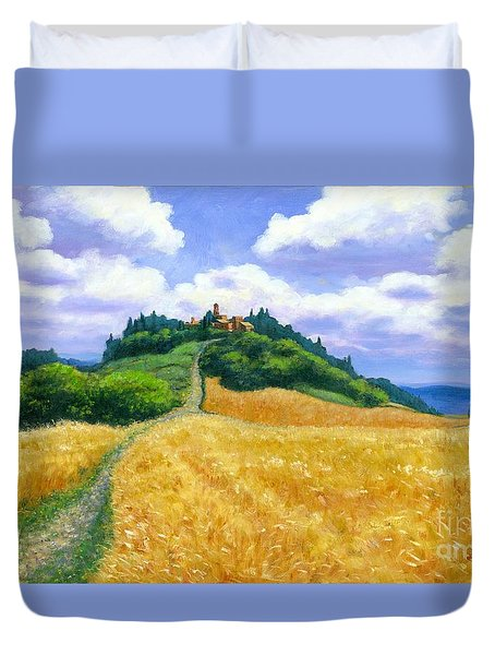 High Noon Tuscany  Duvet Cover