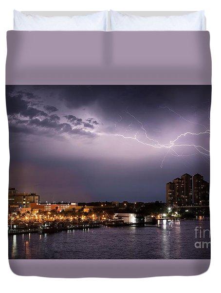 High Point Place Nights Duvet Cover