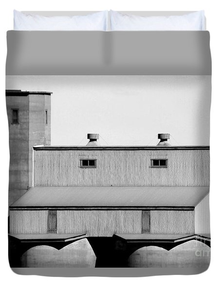 Duvet Cover featuring the photograph High Rise by Stephen Mitchell