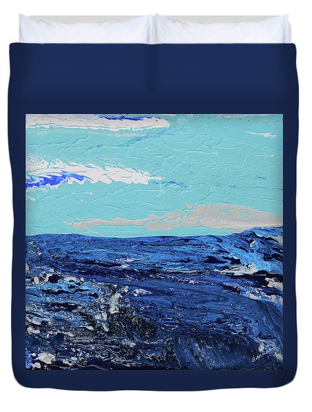 High Sea Duvet Cover