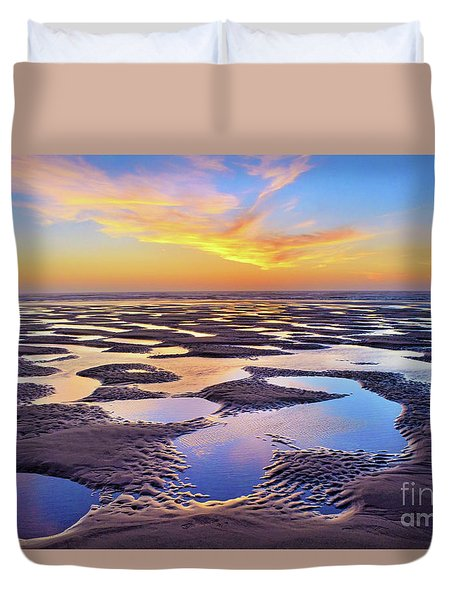 High Tide Impressions Duvet Cover