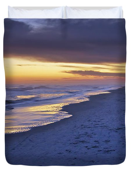 High Tide In Fading Light Duvet Cover by Phill Doherty