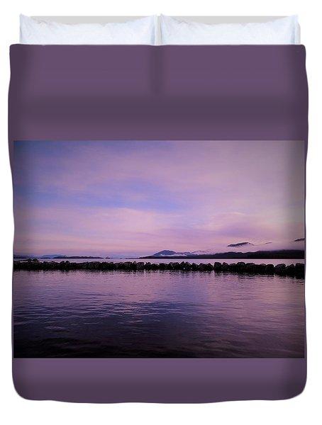 High Tide Duvet Cover by Karen Horn