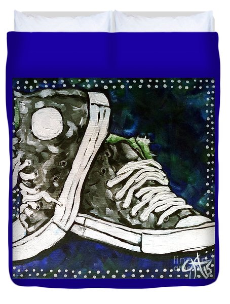 High Top Heaven Duvet Cover
