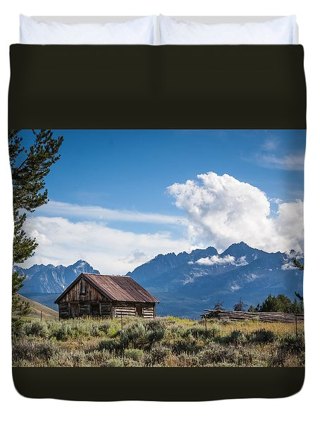 High Valley Cabin 2 Duvet Cover