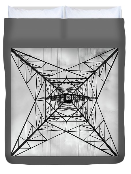 High Voltage Power Duvet Cover