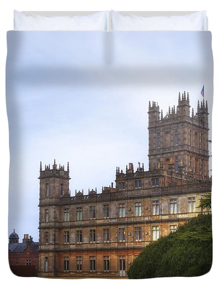 Highclere Castle Duvet Cover