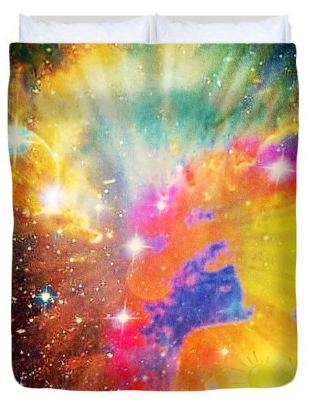 Higher Perspective Duvet Cover