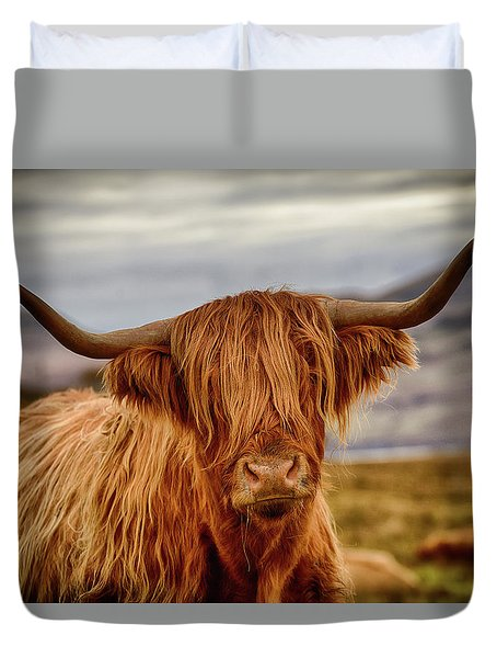 Highland Cow Duvet Cover