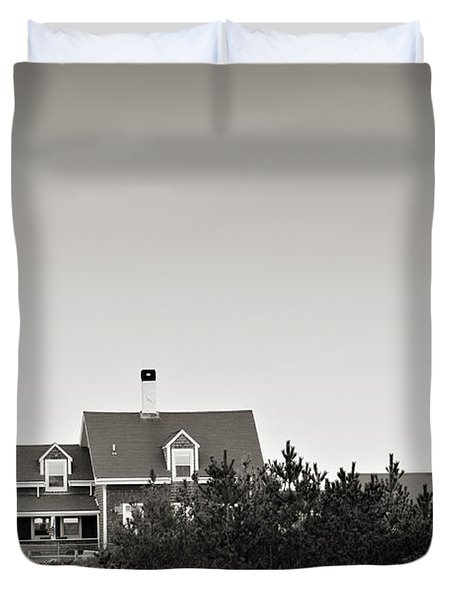 Highland Light At Cape Cod Duvet Cover