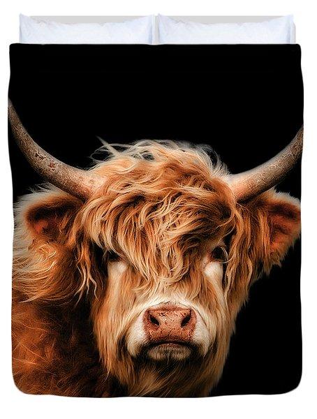 Highland Cow Duvet Cover