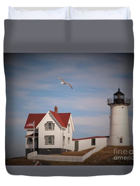 Highlighting The Nubble Light Duvet Cover