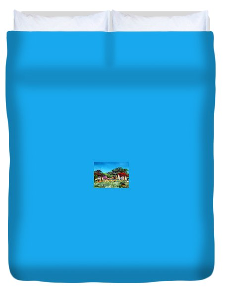 Highveld House Duvet Cover