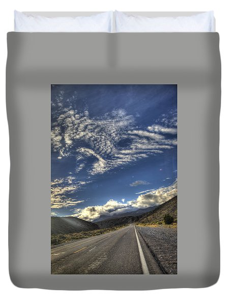 Highway 157 Duvet Cover
